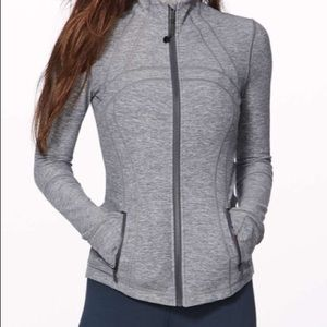Lululemon Define jacket in gray with pockets, 6